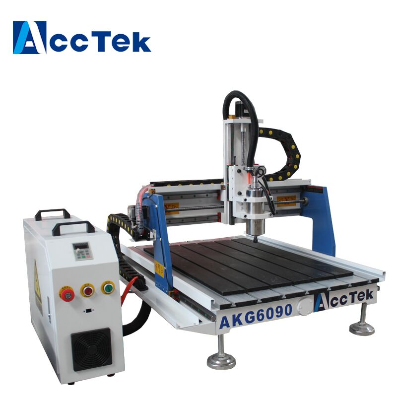 Acctek China 3 axis 4 axis 5 axis cnc milling machine 9060 wood cnc router 6090