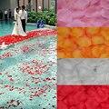 2000 pçs/lote Pétalas de Rosa 16 Cores Para Escolher Bonito Do Vintage Flor De Seda Decoração De Seda Do Casamento para o Casamento Peta
