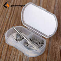 Original 8pcs GeekVape Heating Wire N80 Fused Clapton DIY Coil Wire 2 In 1 for RDA/RTA/RDTA Atomizer Tank Big Vape Coil Build