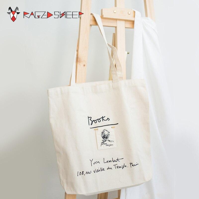 2018 New Fashion Women Shopping Bag Ladies Canvas Letter Shopping bags Totes Beach Bags Girls School bags  C17