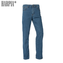 Harpia New Casual Straight Mens Jeans Classic Cowboy Long Pants Male Micro-elasticity Business Men Denim Trousers Plus Size 8xl