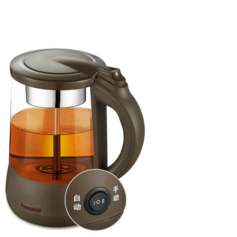 купить Brew the tea pot black glass electric kettle makes teapot with automatic power failure Safety Auto-Off Function недорого
