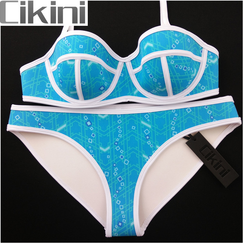 Swimwear Women Neoprene Bikini Woman New Summer 2018 Sexy Swimsuit Bath Suit Push Up Bikini set Bathsuit TA011 Cikini neoprene swimwear women bikini woman new summer 2017 sexy swimsuit bath suit push up bikini set bathsuit ta008y