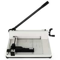 Heavy Duty Guillotine Paper Cutter 12 A4 Trimmer Commercial Metal Base