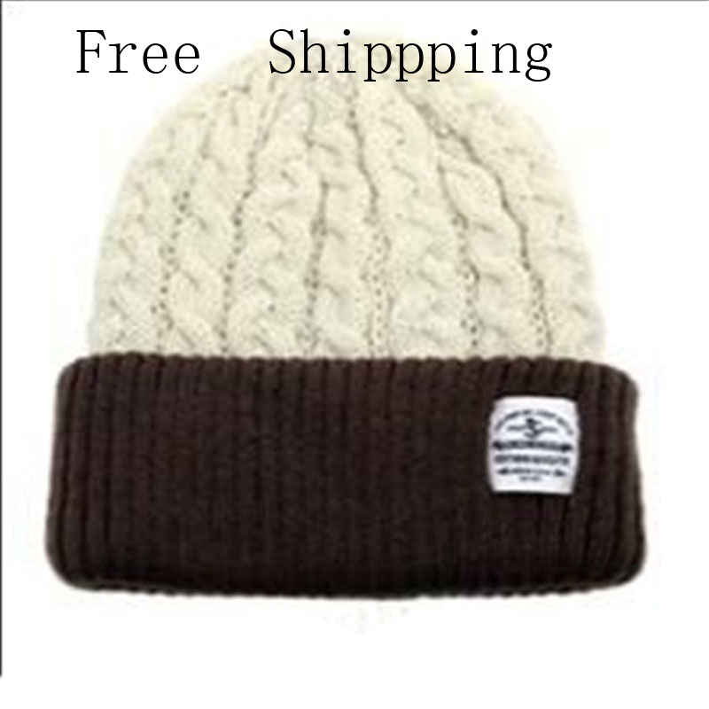 Winter Women Beanies Pompons Hats Warm Baggy Casual Crochet Cap Knitted Hat With Patch Wool Hat Capcasquette gorros De Lana new winter hats for women slouch baggy winter cap women warm soft knit crochet hat bonnet femme gorros de lana mujer