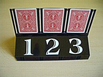 Trio Carte Prédiction Des Tours de Magie Close Up Illusion accessoire gimmick Props Mentalisme classique jouets