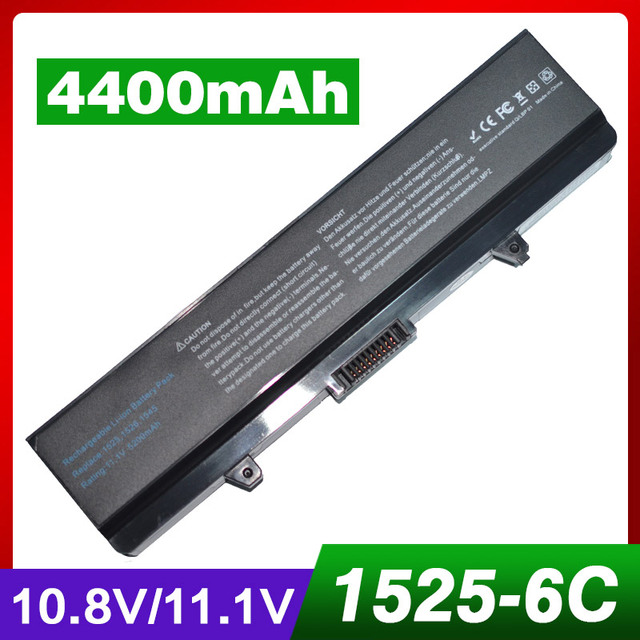 4400 мАч аккумулятор для ноутбука DELL D608H GW240 HP297 M911G RN873 X284G XR693