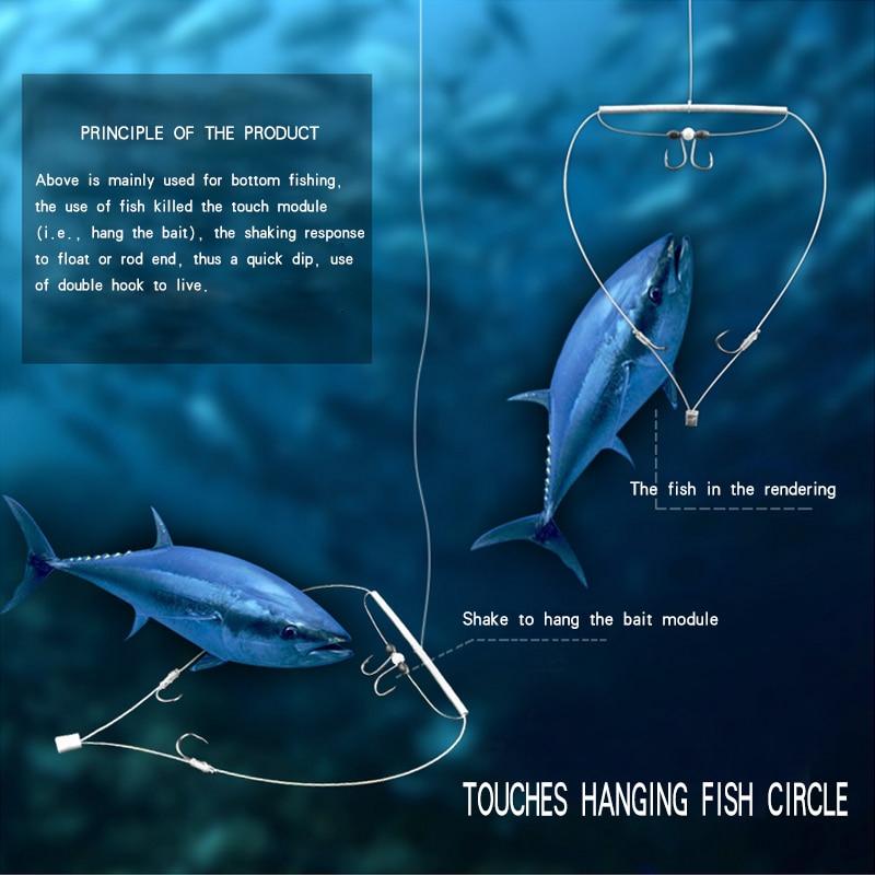 Automatic fishing gear Easy to use No running fish Use false baitgo fishing