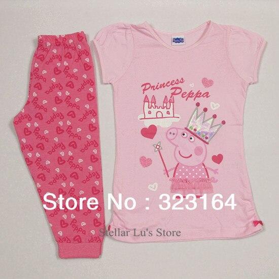 Пижамы и Халаты для девочек peppa