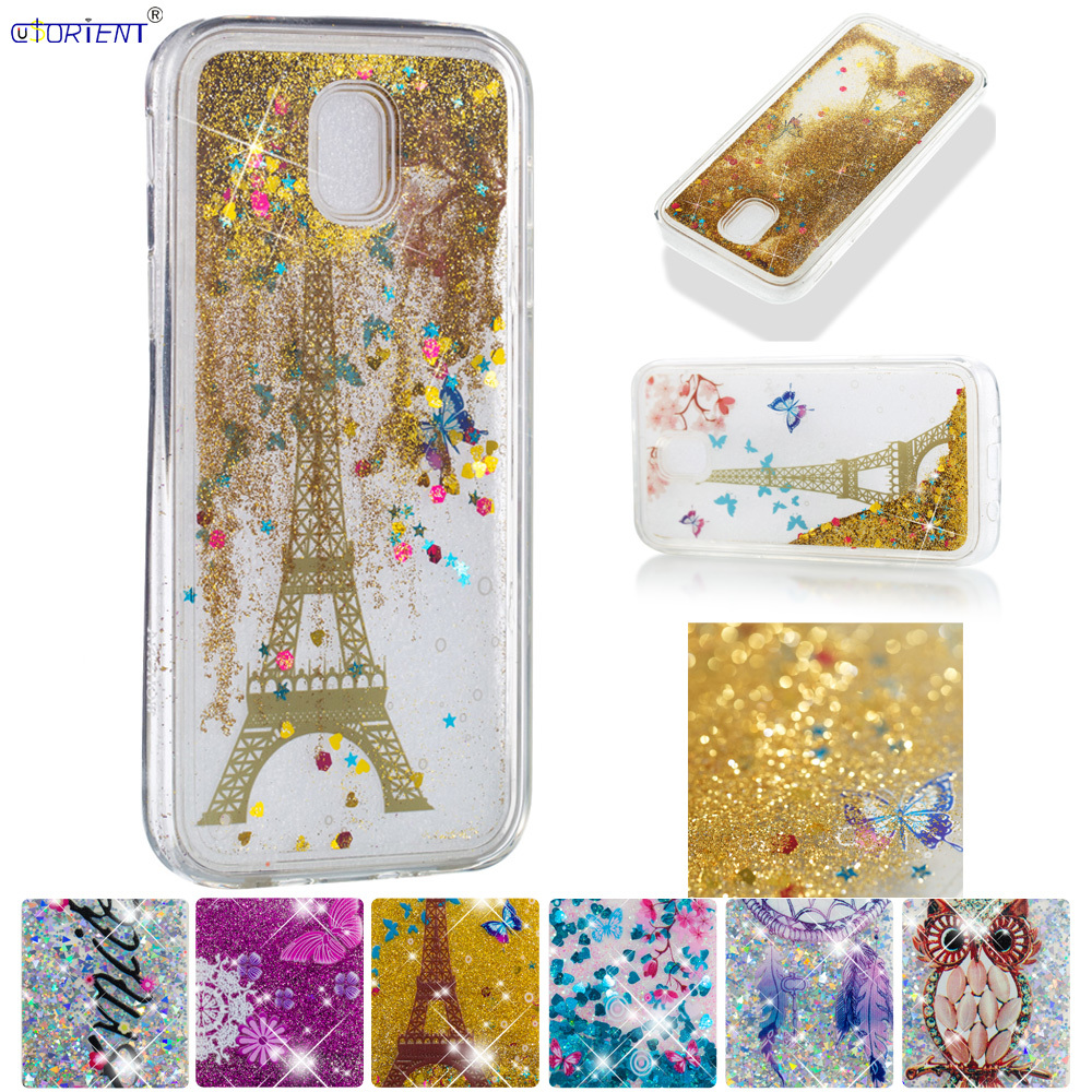Beautiful For Samsung Galaxy J5 Pro J5 2017 Cute Glitter Case J530 Sm-j530f/ds Sm-j530fm/ds Bling Liquid Quicksand Soft Tpu Bumper Cover Buy One Get One Free Cellphones & Telecommunications Half-wrapped Case
