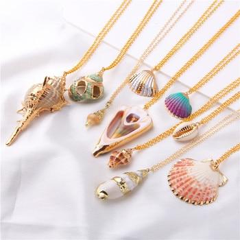 Boho Conch Shell Necklace Seashell Choker Necklace Pendants  Shell Necklace