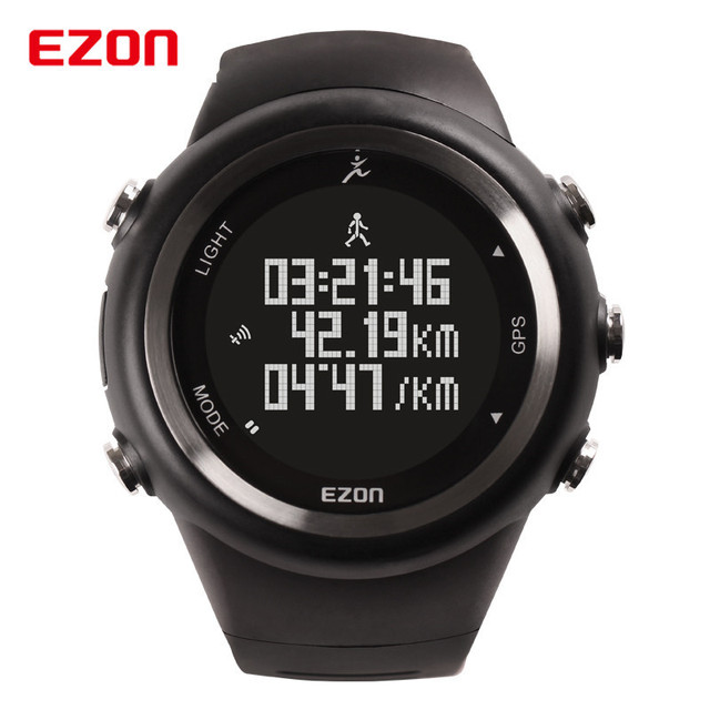 ezon t031 2017 original watches men brand digital sports waterproof watch male gps outdoor. Black Bedroom Furniture Sets. Home Design Ideas