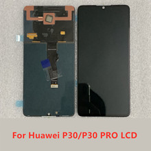 สำหรับ Huawei P30 Pro จอแสดงผล Touch Screen Digitizer ELE L09 L29 สำหรับ Huawei P30 จอแสดงผล VOG L04 L09 L29 หน้าจอเปลี่ยน
