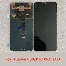 Para Huawei ELEMENTOS L09 L29 P30 Pro Exibição Digitador Da Tela de Toque Para O Huawei Exibição P30 VOG L04 L09 L29 Tela substituição