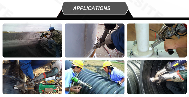 APPLICATIONS OF EXTRUSION WELDER