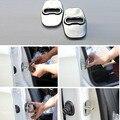 Para Peugeot 207CC RCZ 301 308 408 508 2008 3008 puerta Del Coche de acero inoxidable armario bloqueo hebilla decoración Protector de la cubierta