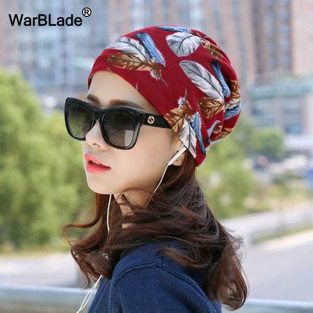 Fashion 2018 New Spring-Autumn Women's Hats Lattice Pattern Beanies Knitted Hat Ear Protector Cotton Warm Skullies WarBLade