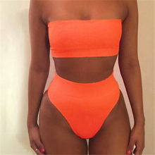 2018 Hot Sales Women Bandage Bra Swimsuit Bathing 2pcs Set Swimwear drop shipping may12(China)