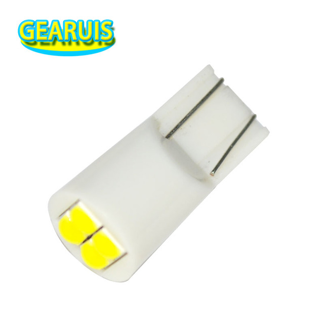 100 T10 4 SMD 3030 LED 501 w5w 194 168 60MA wedges car interior instrument Reading Lights Luggage Car Door Light LED White