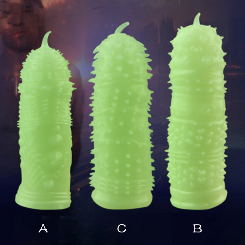 Penis Sleeve Condoms Fluorescence Special Condoms Medical Themed Sex Toys Sexy Condom Adult Product for Man Sex Toys