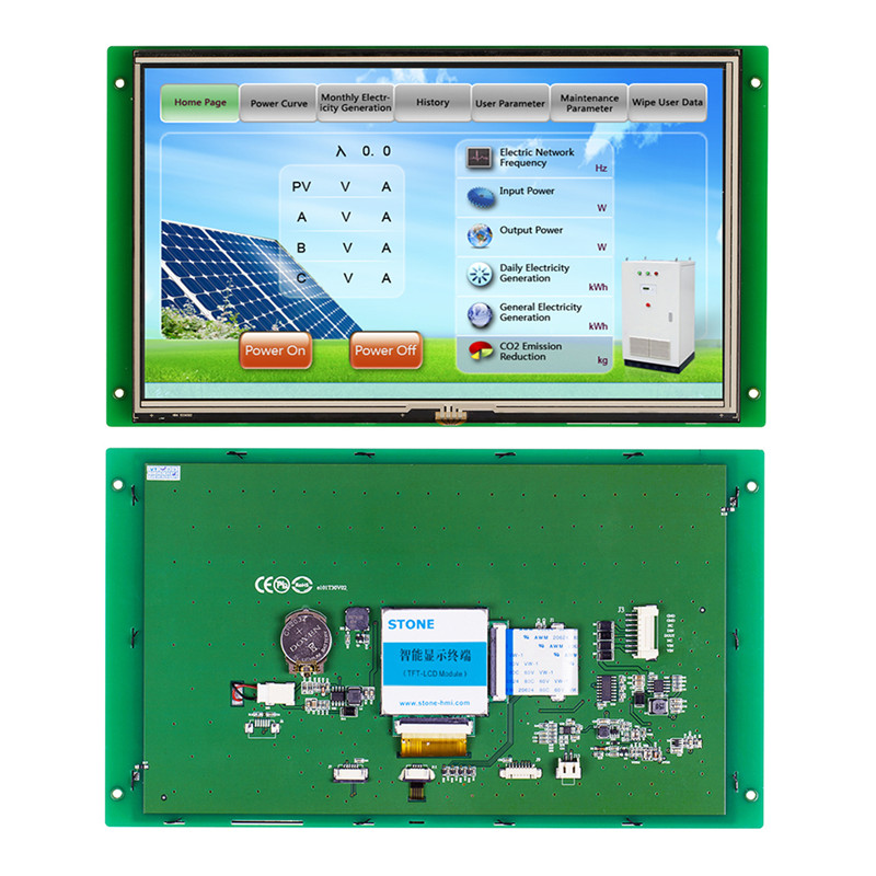 10.1 TFT LCD Module with Control Board +CPU+Serial Interface for Vending Machine Use10.1 TFT LCD Module with Control Board +CPU+Serial Interface for Vending Machine Use