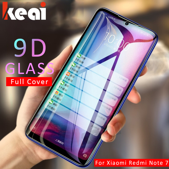 9D Full Cover Tempered Glass For Xiaomi Redmi Note 7 6 Pro 5 5A Screen Protector On The For Redmi 6A 5A 6 Pro 5 Plus Glass Film