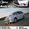 Bumper Lip Deflector Lips For Mitsubishi Chariot Grandis / Nimbus / Space Wagon / Savrin Front Spoiler Skirt / Body Kit Wing