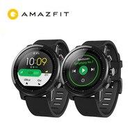 Английская версия Huami Amazfit Stratos смарт спортивные часы 2 gps 5ATM воды 1,34 ''2.5D Экран gps компании Firstbeat плавание Smartwatch