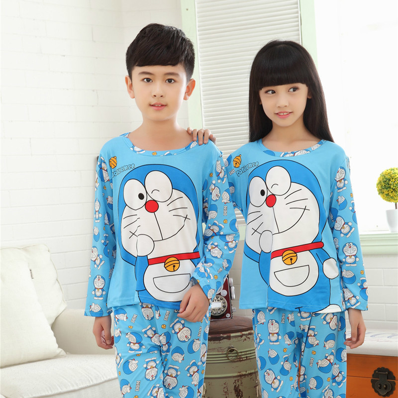 kids pajamas 2016 spring&autumn new cartoon long sleeve baby boys girls pyjamas Casual children sleepwear sets Christmas clothes