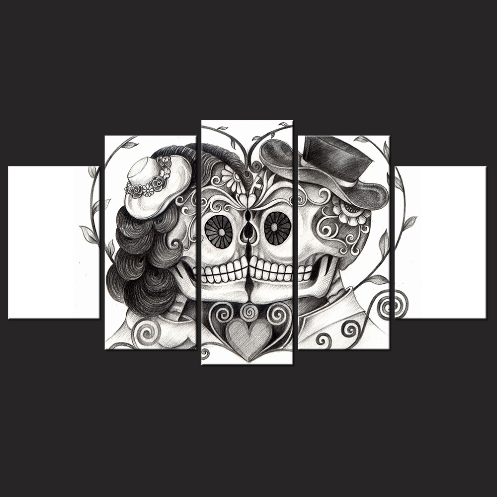 Day Of The Dead Wall Art online buy wholesale day of the dead from china day of the dead