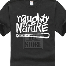 New Naughty By Nature Rap Hip Hop Music Logo MenS Black T Shirt Size S To 3Xl