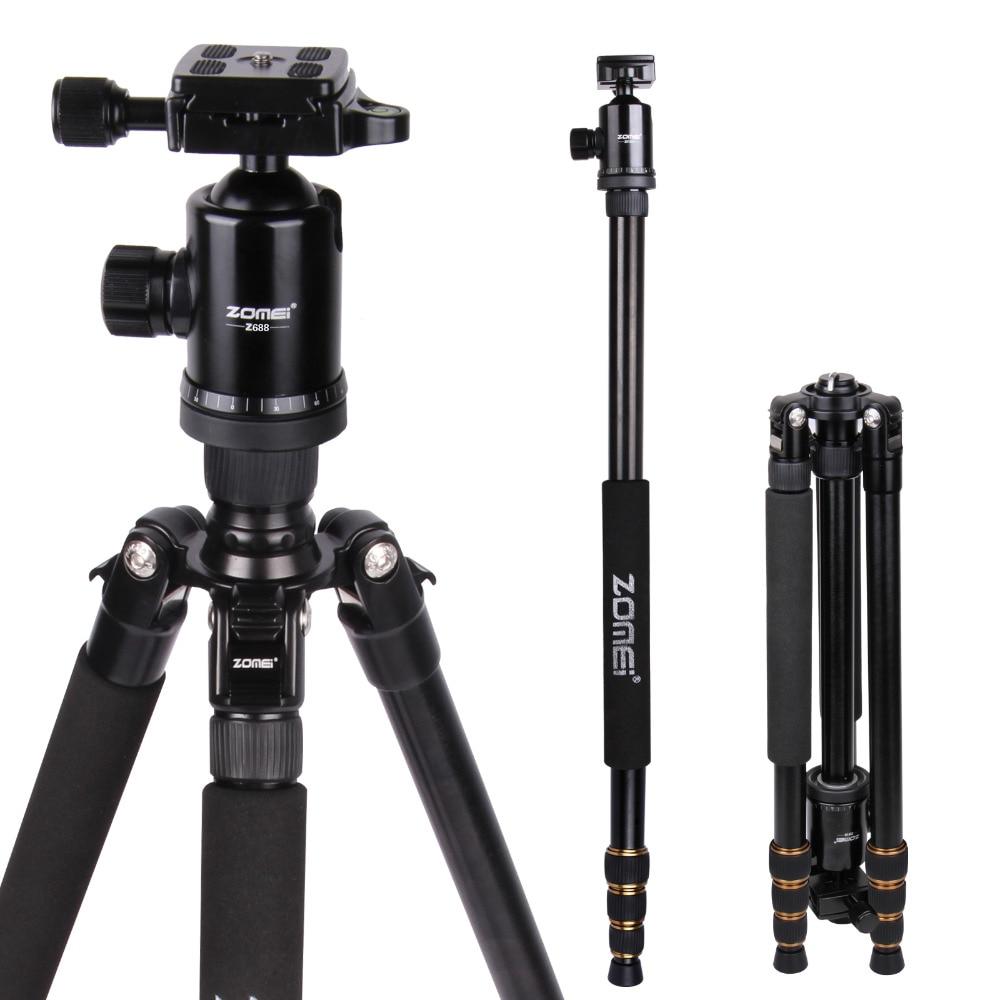 Professional Camera Tripod Aluminum-magnesium Alloy Tripode Support for Sony Nik