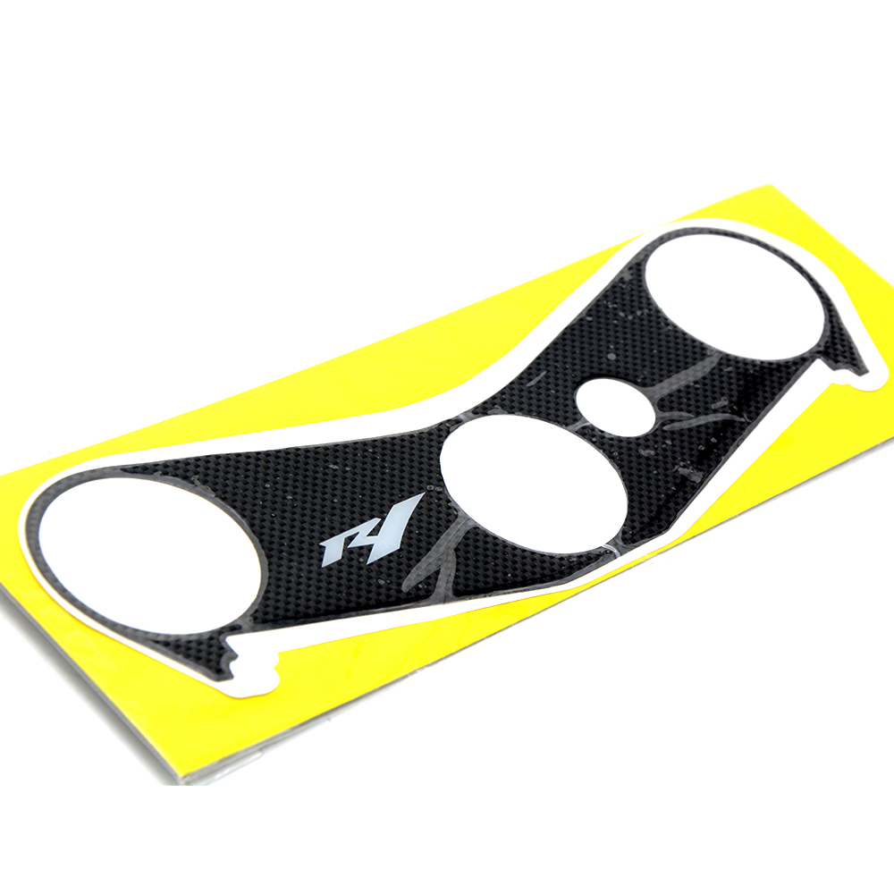 Motorbike Motorcycle Oil Tank Fuel Gas Protection Plate Fork Sticker For Yamaha YZF R1 YZFR1 YZF R1 2002 2003 yzf r1 yzfr1 moto in Covers Ornamental Mouldings from Automobiles Motorcycles