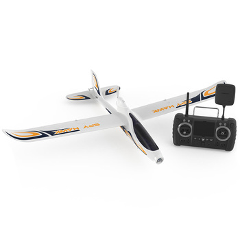 HUBSAN H301S HAWK RC Airplanes 5.8G Image Transmission FPV 4CH RC Airplane - RTF With GPS Module LED Light Bar Drone Dron Toys