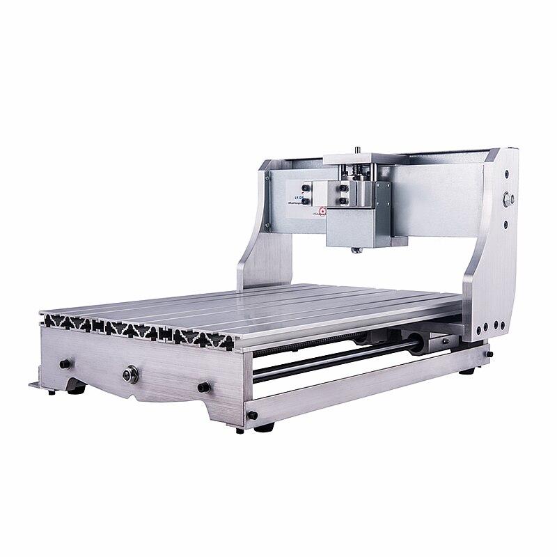 LY 65mm eje accesorio CNC marco 6040 DIY mini cnc fresadora kits