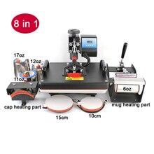 3a215349c Cheap 8 In 1 Heat Press Machine,Sublimation Printer/Heat Transfer Machine, Heat