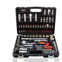 94pcs Socket Set Drive Ratchet Wrench Spanner Multifunctional Combination Household Tool Kit Car Repair Tools Set