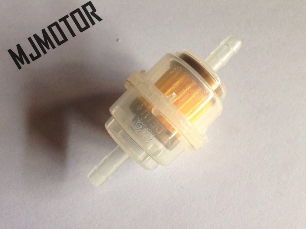(10pcs/lot) Genernal Use Fuel Filter For Chinese GY6 Scooter Honda ZX DIO Vespa ATV Yamaha suzuki Motorcycle Filter Element Part