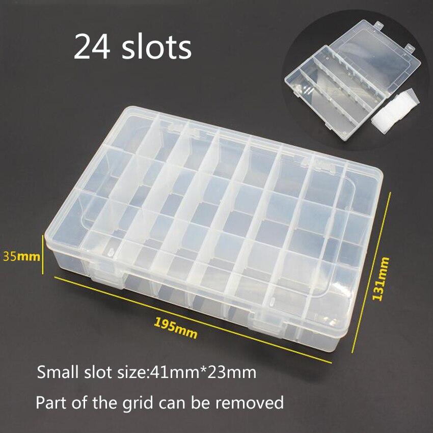 1PC New 24 Slot Cells Portagioie portatile Porta-attrezzi Anello - Portautensili - Fotografia 2