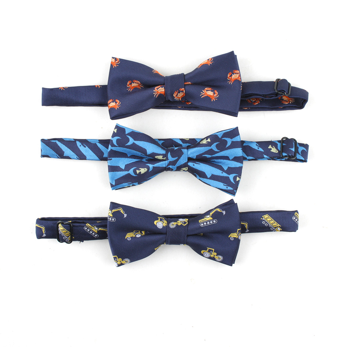 2018 New Bowtie  Animal Pattern Fish Anchor Bow Ties For Men Women Accessories