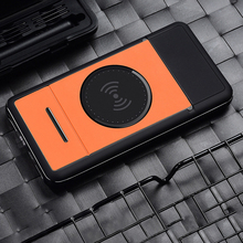 New Power Bank 20000mAh Digital Display Stand Wireless charging mobile powerwireless charging For iPhone X For xiaomi Top sales
