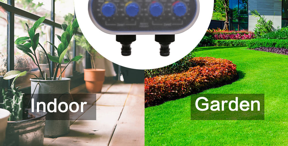 Ball Valve Electronic Automatic Garden Watering Timer For Comfort Grip And Easy Use 17