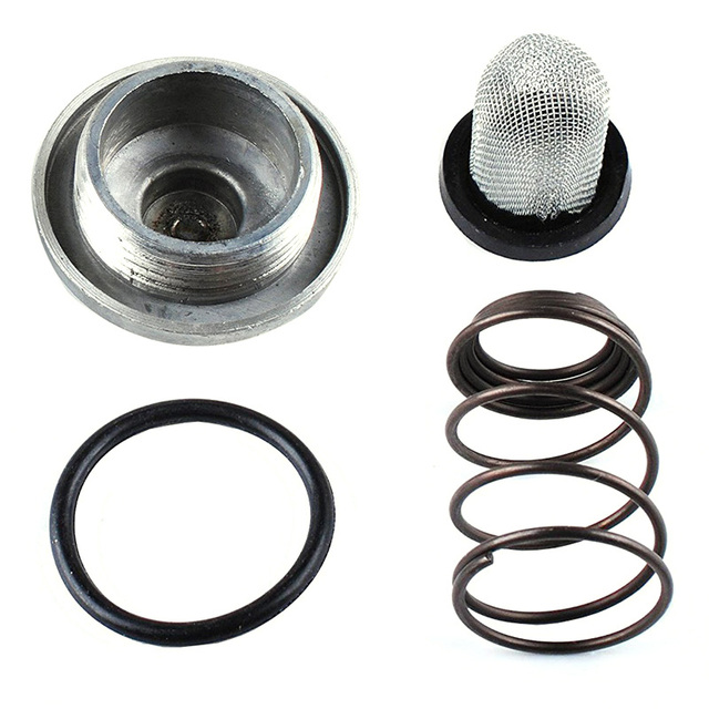 US $0 97 15% OFF|GY6 50cc to 150cc 125/150 Engine Parts Plug Moped Oil  Filter Drain Screw Scooter For Baotian Benzhou Znen Taotao -in Kickstarters  &
