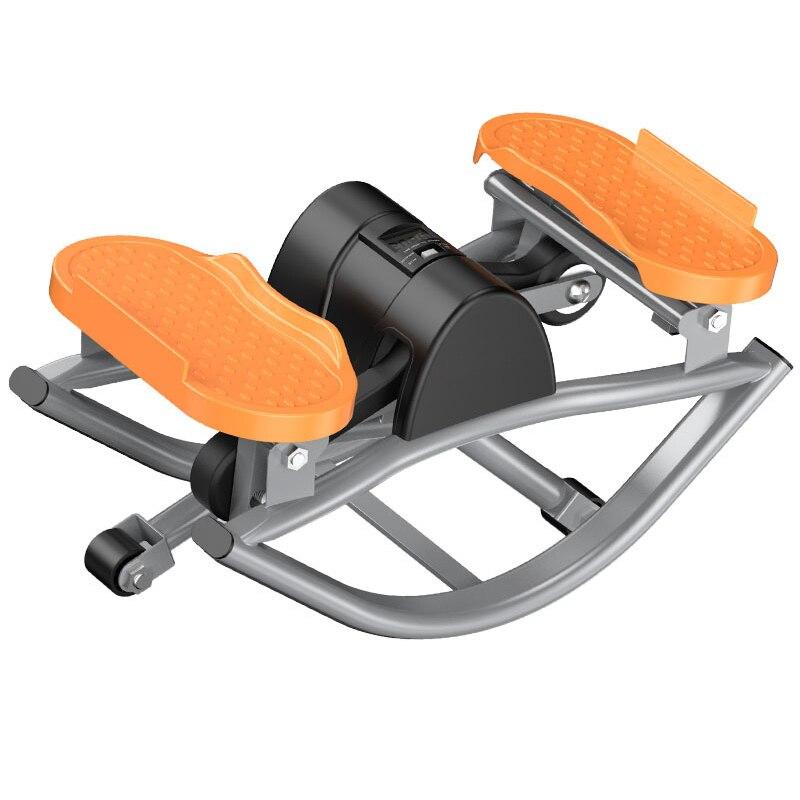 Tapis de course pas à pas pour appareil de musculation à domicile tapis de course LCD intérieur vélo fitness minceur pédale aérobic swing perdre du poids machine de course à chaud