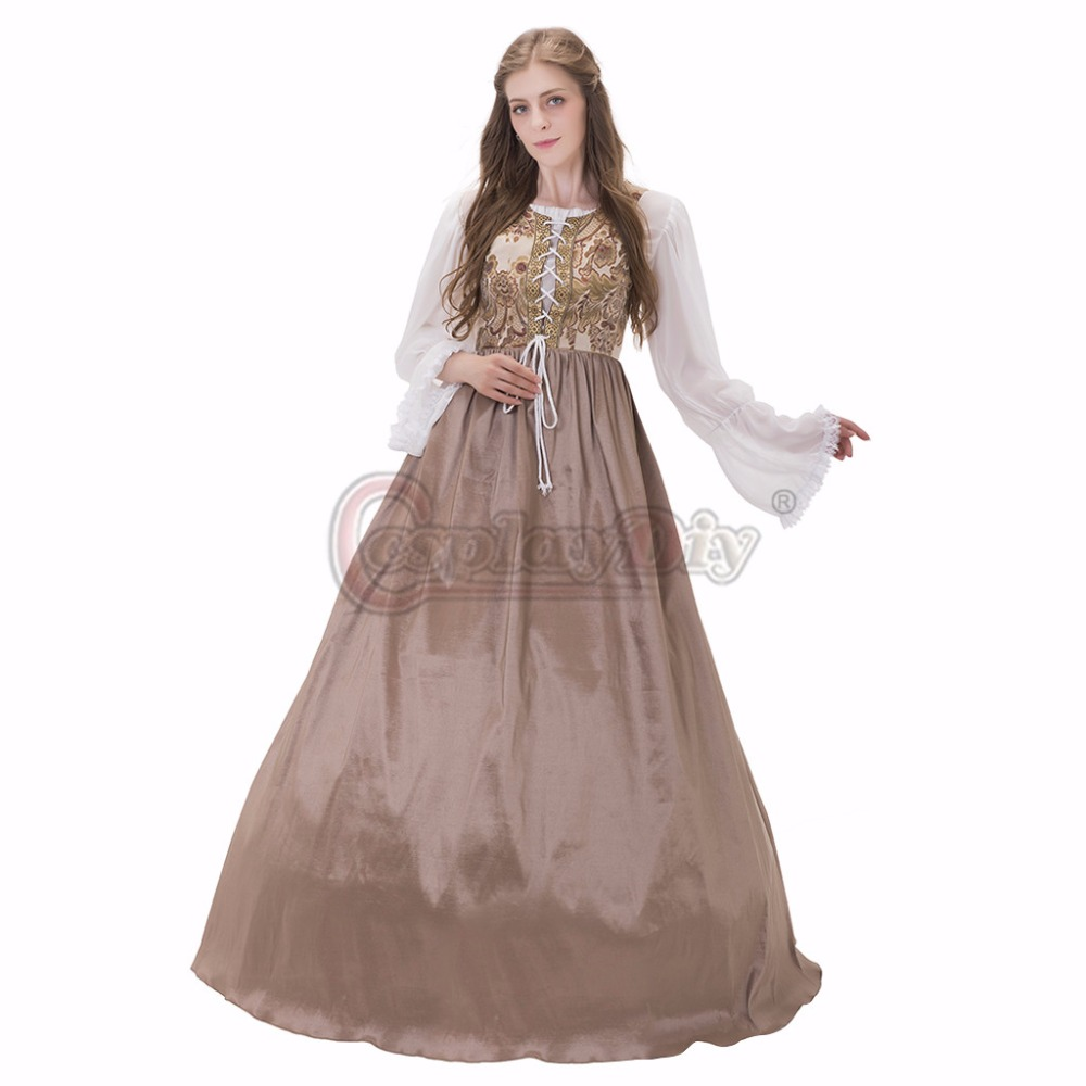 Medieval Fairytale Wedding Gown Medieval Viking Dress Gown ...