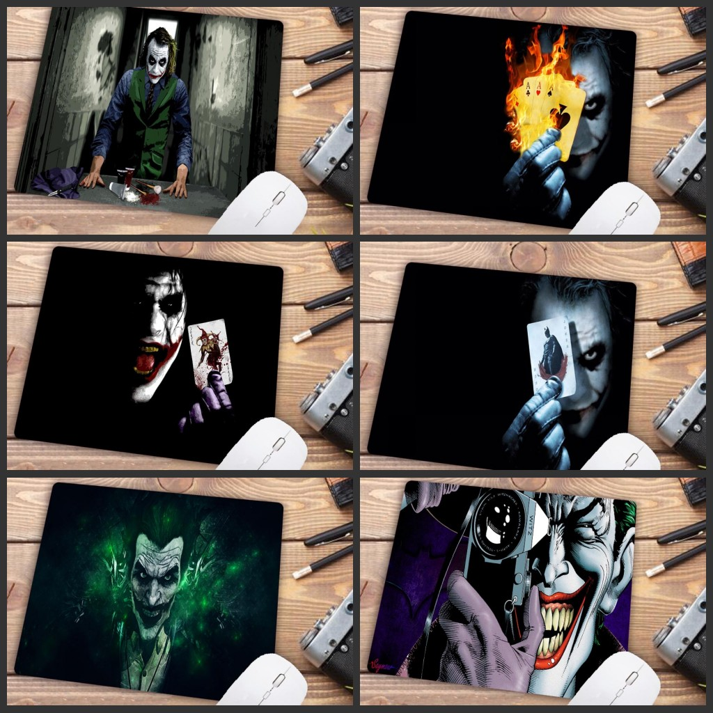 Mairuige Big Promotion 2018 New Funny Joker Office Mice Gamer Soft Gaming Mouse Pad Size For 18x22cm Small Mousepad Desktop Pad