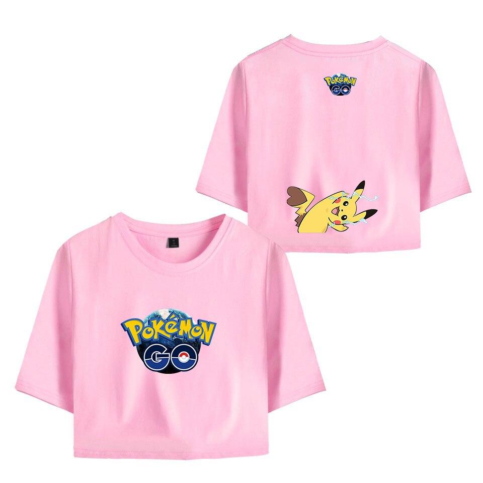 summer-print-font-b-pokemon-b-font-pikachu-t-shirts-exposed-navel-women-new-fashion-tops-beautiful-girl's-font-b-pokemon-b-font-pikachu-pink-navel-t-shirts
