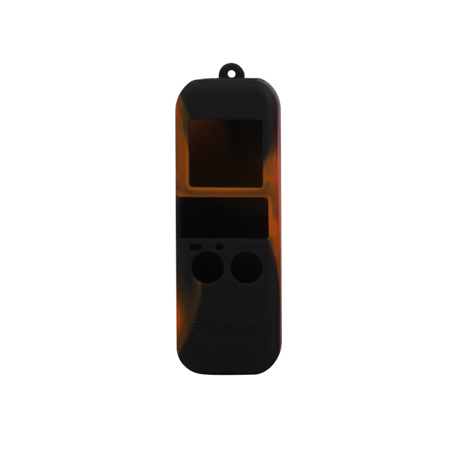 1pcs Silicone Cover Case with Sling Strap combo For DJI Osmo Pocket Gimbal stabilized handheld MiNi camera Handle Gimbal Case