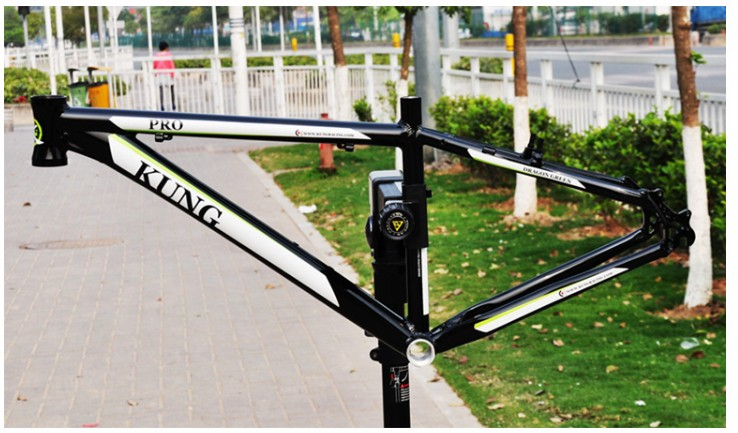Original  HONGKONG  Kung  18 inch aluminum alloy Gloss 26 18 inch MTB mountain bike frame giant 26 mountain bike mtb frame atx pro