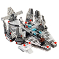Mini Building Blocks Star Wars Millennium Falcon Figure Educational Toy For Children Gift